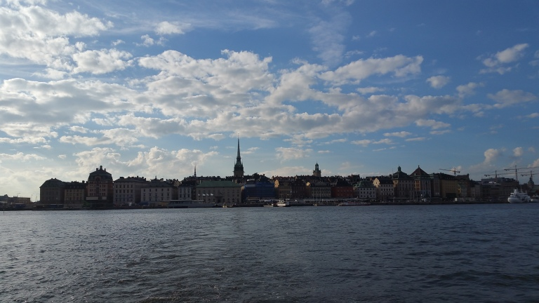 Stockholm Gamla Stan from Ferry